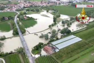 Vreme extremă în Europa. Furtuni puternice, ninsori și inundații în mai multe țări