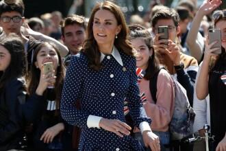 Kate Middleton, în centrul atenției la un eveniment dedicat celui de-al Doilea Război. FOTO