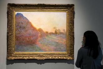 Suma uriașă cu care s-a vândut un tablou de Monet, la o licitație din New York