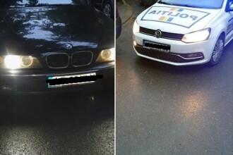 Anchetă la IPJ Arad după ce doi agenţi ar fi fost implicaţi în şicanarea unui şofer în trafic