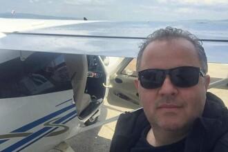 Ultima poză cu Liviu Bucățică, mort în avionul prăbușit din Buzău. Mesajul surorii lui