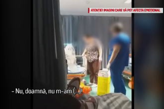 Infirmiere, filmate în timp ce umilesc oameni ai străzii sau se bat cu paznicul