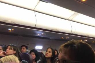 Bătaie la bordul unui avion Wizz Air, între pasageri beți. Reacția piloților