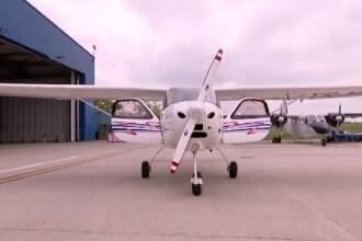 Avionul căzut în Buzău. Surse: Pilotul fusese avertizat de vremea rea