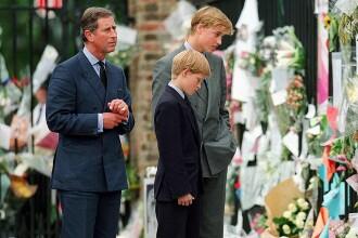 """William, mărturii despre moartea prințesei Diana: """"A fost o durere cum n-am mai simțit"""""""