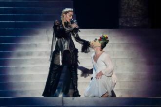 Un oficial israelian a criticat-o dur pe Madonna, după mesajul politic lansat la Eurovision