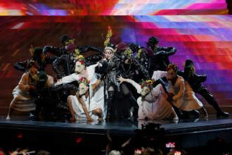 Madonna, moment controversat la Eurovision. Gestul care i-a înfuriat pe organizatori. FOTO