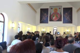 Biserică ridicată în timp record pentru ca romii din Blaj să-l poată întâlni pe Papă