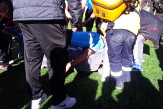 Un arbitru a suferit un infarct în timpul unui meci. A murit când a ajuns la spital. VIDEO