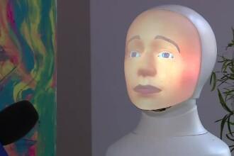 """Interviu cu cel mai avansat robot social din lume. """"Sunt femei frumoase în România"""""""