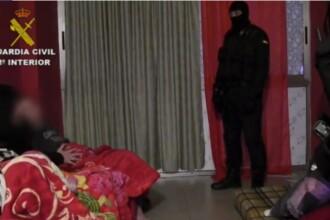 Românce forţate să se prostitueze în Spania, eliberate de poliţie. Cine a denunțat gruparea