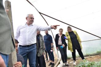 """VIDEO. Utilaje """"mutate"""" după inaugurarea lucrărilor la Piteşti-Craiova făcută de Dragnea"""