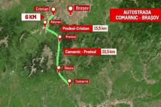 Dăncilă anunță că Guvernul s-a răzgândit în cazul autostrăzii Comarnic - Brașov