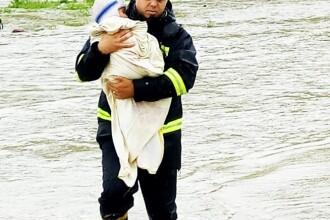 Urmările codului roșu de inundații. Zece județe au fost afectate de fenomenele meteo
