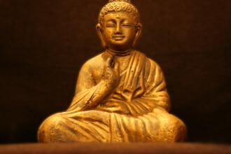 Scheletul unui călugăr, descoperit în interiorul unei statui. Ipoteza specialiștilor. FOTO