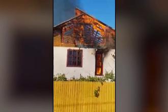 Incendiu puternic în stațiunea Eforie. Localnicii au dat alarma