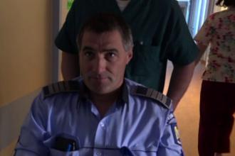 Polițist târât zeci de metri de șoferul pe care intenționa să-l tragă pe dreapta