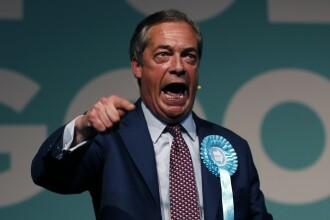 Alegerile europarlamentare din UK ar putea fi câştigate de partidul anti-UE al lui Farage
