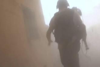 Jurnalişti atacaţi de un tanc al regimului Assad, când filmau viaţa de iad din Siria