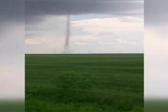 Un nou fuior de tornadă s-a format în sudul țării. Explicațiile specialiștilor ANM