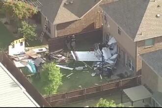 Un avion s-a prăbușit pe o casă din Dallas. În locuință erau o femeie și doi copii