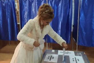 Doi miri din Timiș au făcut primul drum ca soț și soție la secția de votare