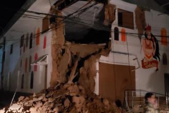 Un cutremur cu magnitudinea 8 s-a produs în Peru. VIDEO