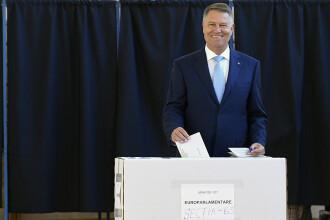 Președintele Klaus Iohannis: Nimeni nu s-a infectat fiindcă s-a dus la vot