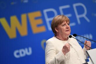 Angela Merkel a primit la rapel ser Moderna, după prima doză de vaccin AstraZeneca