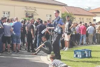 Gestul emoționant făcut de polițiștii germani pentru românii din diaspora. FOTO