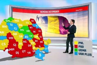 Rezultate oficiale parțiale europarlamentare. Alianţa USR PLUS a crescut la 21,24%. Harta pe județe