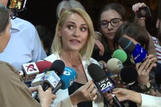 VIDEO. Gabriela Firea, enervată de un protestatar după şedinţa PSD: Ştiu cine te plăteşte