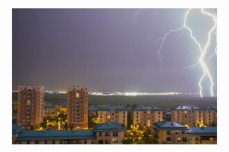 Avertizare de vreme severă. Cod galben de ploi torențiale, furtuni și grindină în 33 de județe