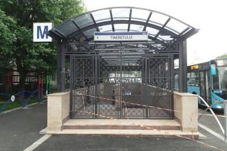 Metrorex a dat în folosinţă o nouă ieşire a staţiei Tineretului. FOTO
