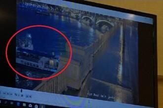 Momentul în care o navă cu turiști e lovită de un alt vapor pe Dunăre. S-a scufundat în 7 secunde