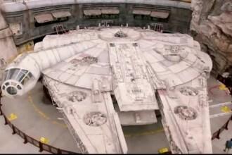 În SUA a fost deschis un parc dedicat fanilor Star Wars. Principala atracție: Șoimul Mileniului