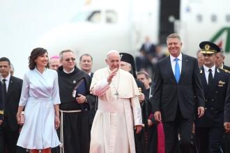 Papa în România. Suveranul Pontif a sosit la Bucureşti