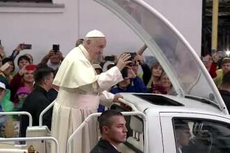 Gestul emoționant făcut de Papa Francisc pentru 800 de români bolnavi