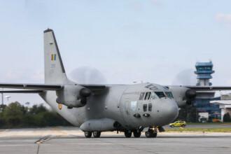 Trei persoane cu arsuri trimise în străinătate cu un avion MApN