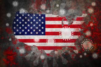 O nouă explozie a numărului de infectări cu coronavirus în SUA. Bilanțul total