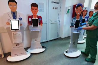 """Cum se face triajul digital al pacienților cu Covid-19. """"La sfârşit, noi dăm un rezultat"""""""