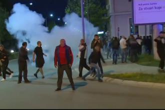 Protest violent în Muntenegru, pentru eliberarea a opt preoți arestați după ce au ținut o slujbă