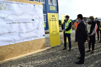Cum a reacționat Orban după ce a inspectat lucrările la autostrada Sibiu-Pitești