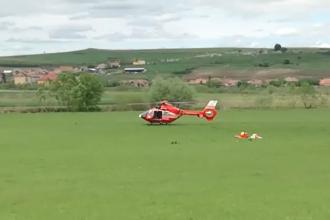 Bărbat preluat cu elicopterul SMURD, după ce a căzut în timpul unei drumeții