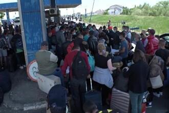 Haos la vama Nădlac. Peste 29.000 de oameni au trecut frontiera în ultimele 24h