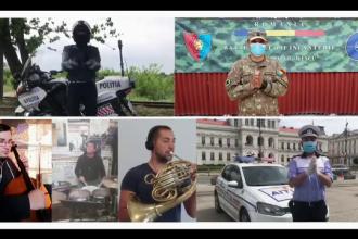 VIDEO. Mulţumirea muzicală a artiştilor filarmonicii Arad pentru eroii din linia întâi