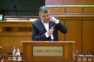 Ce scuză a găsit Marcel Ciolacu pentru faptul că nu a purtat mască în Parlament