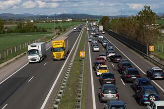 Autostrada spre Grecia, blocată de protestatari în Bulgaria. Restricții severe de trafic