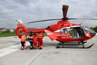 Caz dramatic în Timiș: asistent de pe un elicopter SMURD, chemat să își salveze propriul copil. Martorii au început să plângă