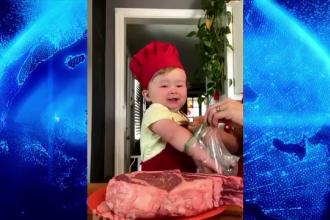 Un copil de un an face senzație pe internet. Peste 1,5 milioane de oameni îl urmăresc pe Instagram